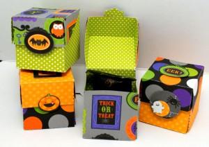 Halloween Flip Top Boxes