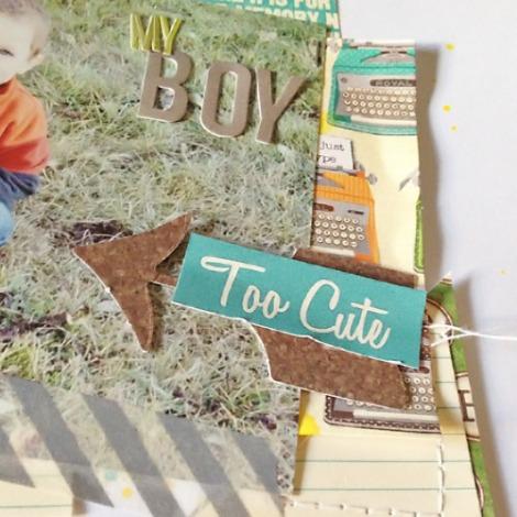 My Boy Layout - Too Cute