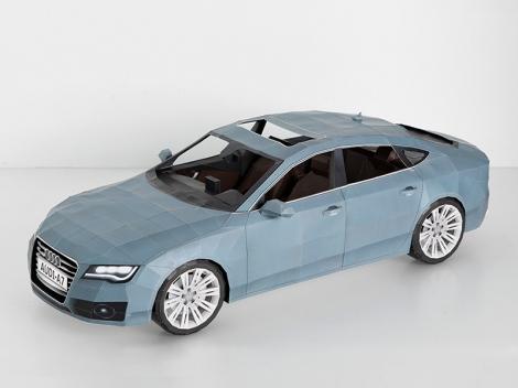 Audi A7 Papercraft