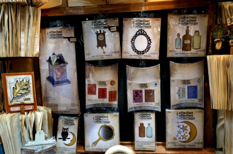 Tim Holtz new dies and stamps