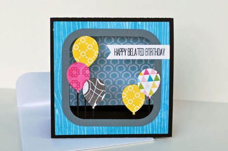 Stand Up Birthday Card