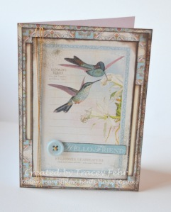 Hummingbird Card 2