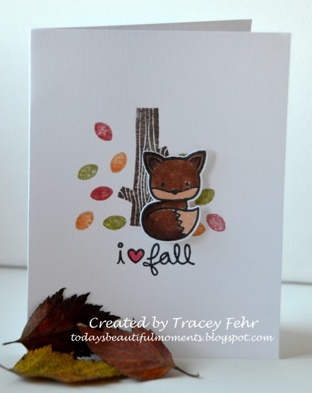 Scrapbooks by Design Fall Card