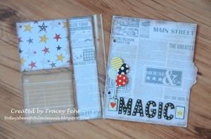 Disney Divider and Journalling Page