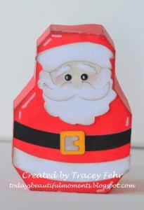 Santa Christmas Box