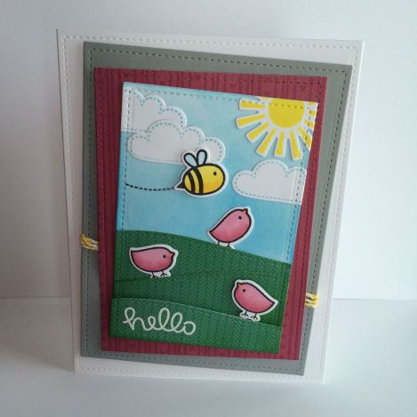 hello card by mandy reedyk